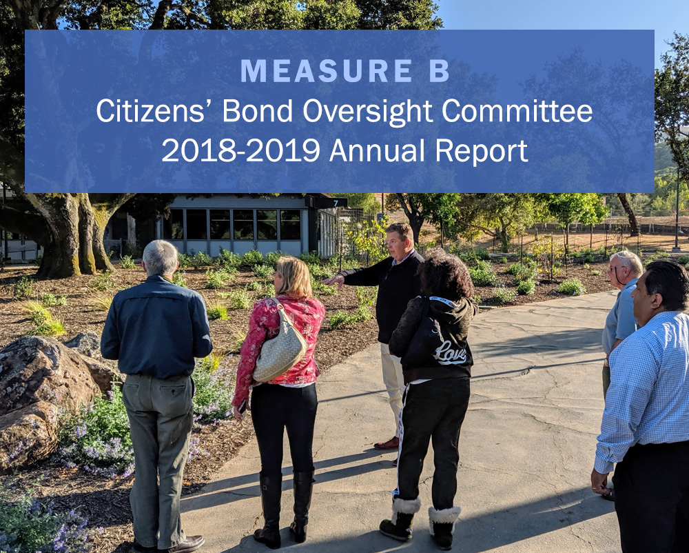 Measure B Citizens' Bond Oversight Committee 2018-2019 Annual Report